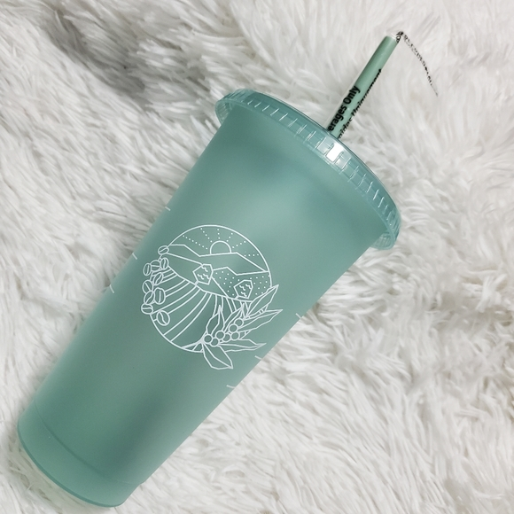 Starbucks Earth Day Venti Reuseable Cold Cup